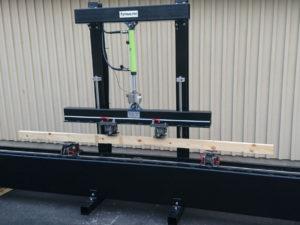 MT250 böjprovare för träproducenter och lab